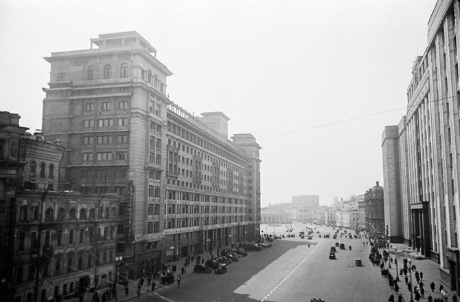 Москва. Проспект Маркса