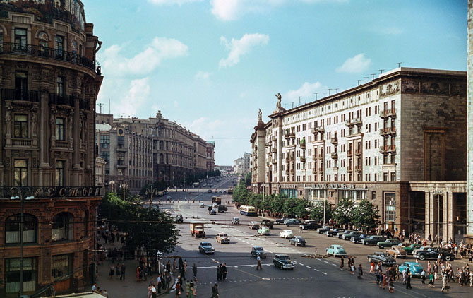 Москва. ул. Горького