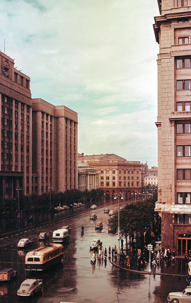 Москва. Проспект Маркса. Госплан