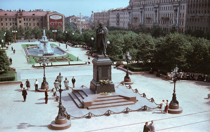Москва. Пушкинская площадь.