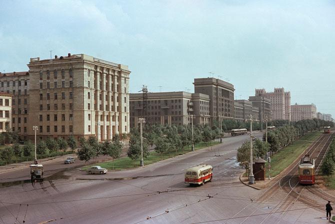 Москва. Ярославское шоссе