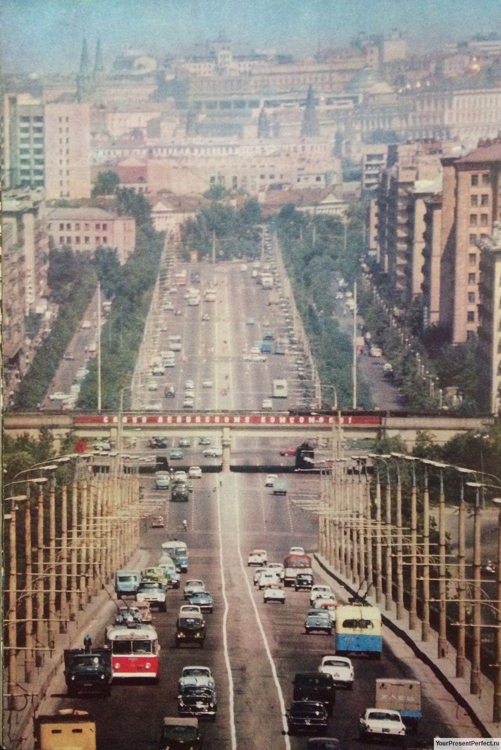 Комсомольский проспект. г.Москва 1971г.