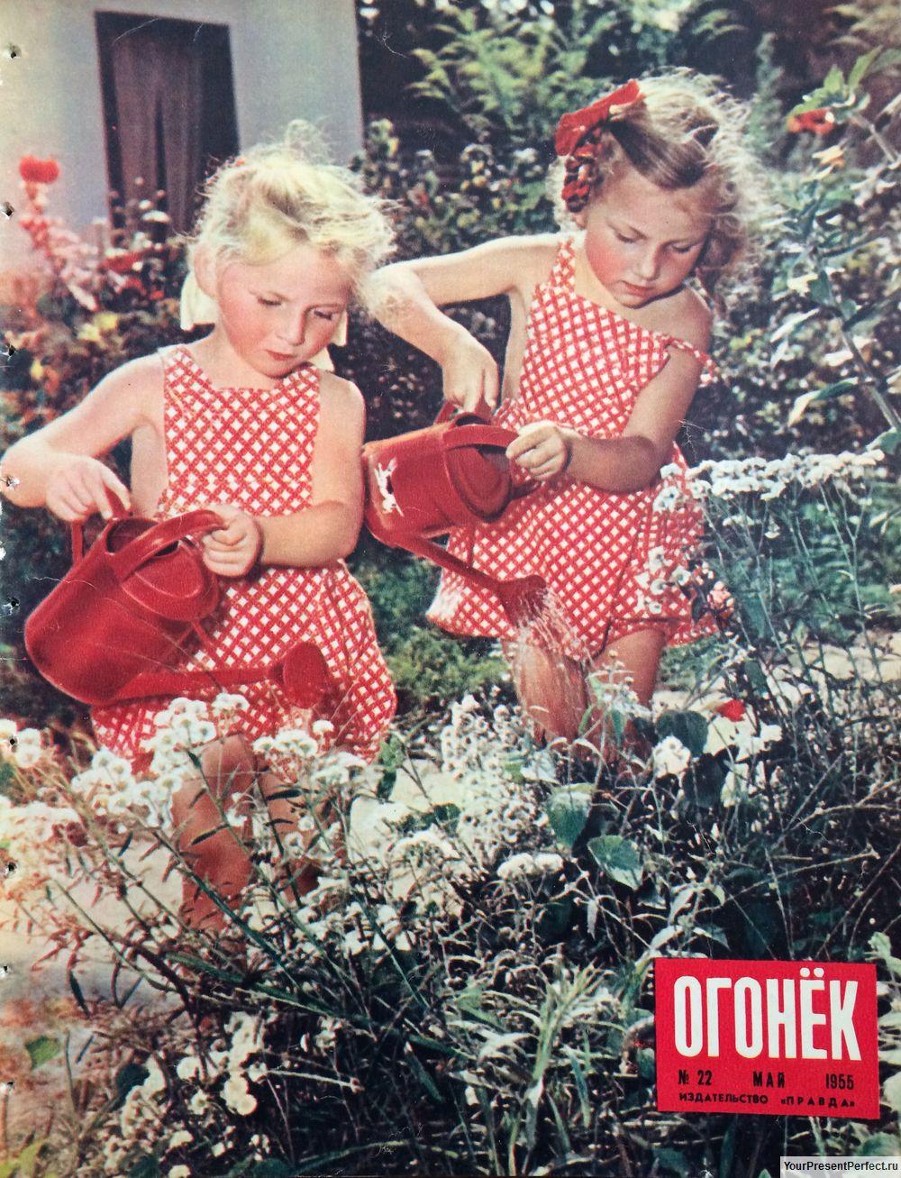Журнал Огонек №22 май 1955
