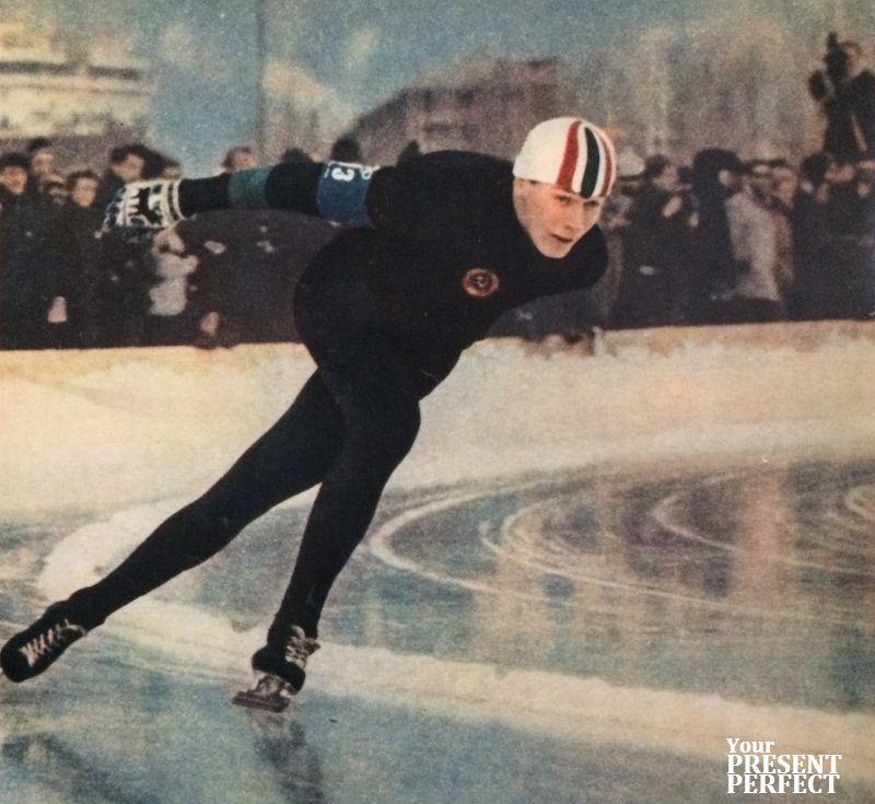 Абсолютный чемпион СССР Эдуард Матусевич.
