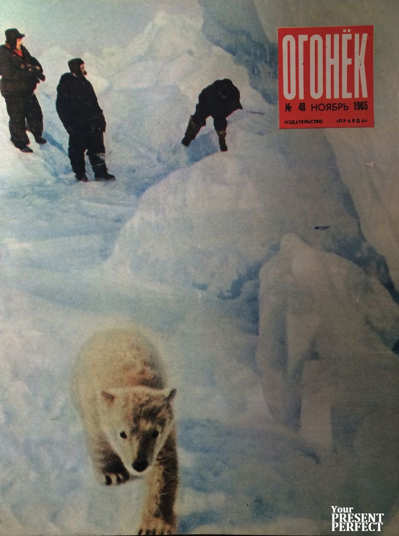 Журнал Огонек №48 ноябрь 1965