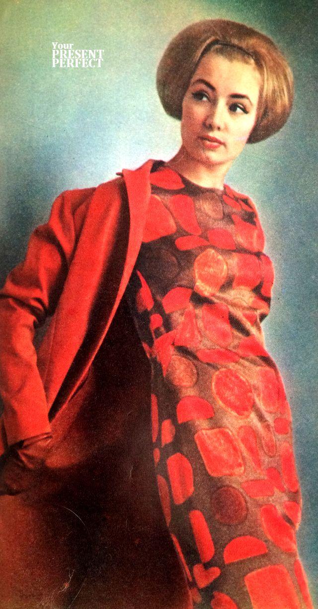 Мода СССР. Лето - 1963. Журнал Советский Союз 1963 г.