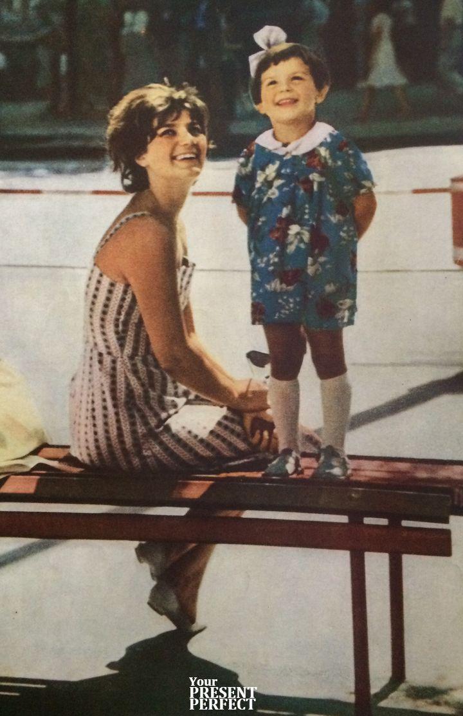Мама с дочкой. Фото 1964г.