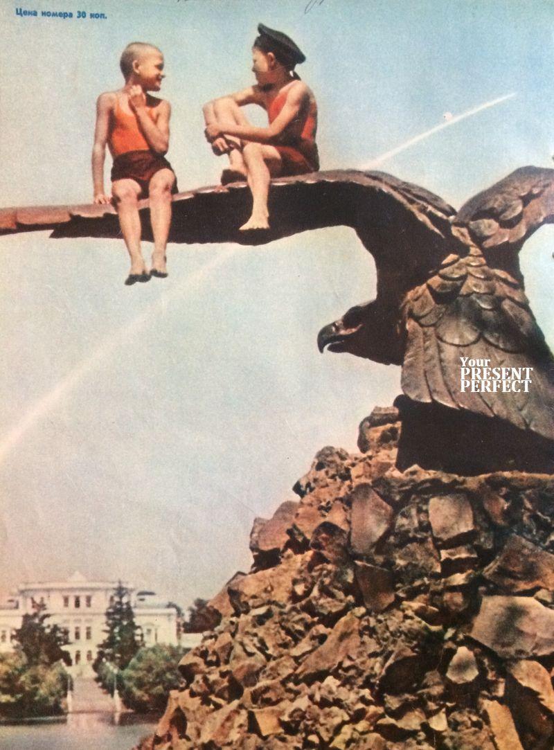 Орлята. Фото 1962г. Журнал Огонек.