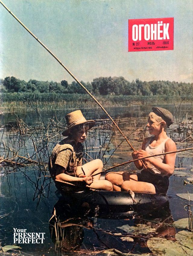 Журнал Огонек №27 июль 1956