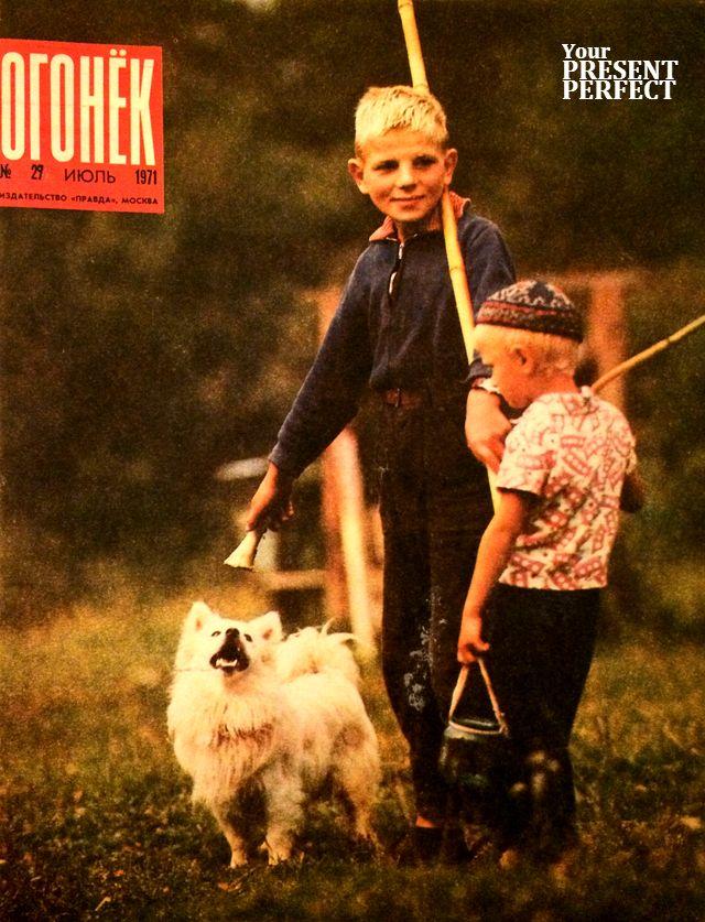 Журнал Огонек №29 июль 1971