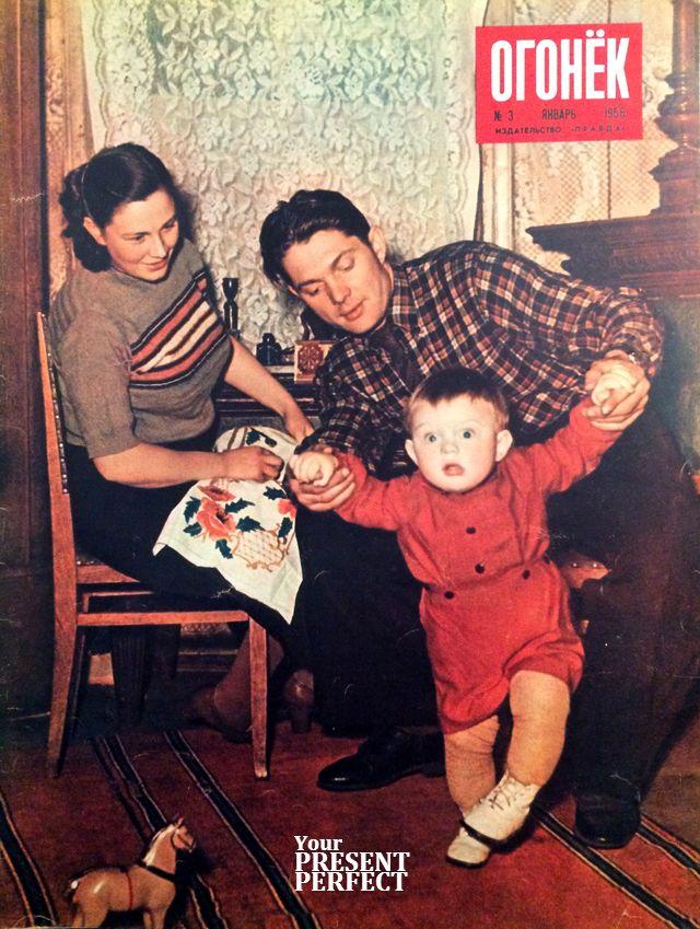 Журнал Огонек №3 январь 1956