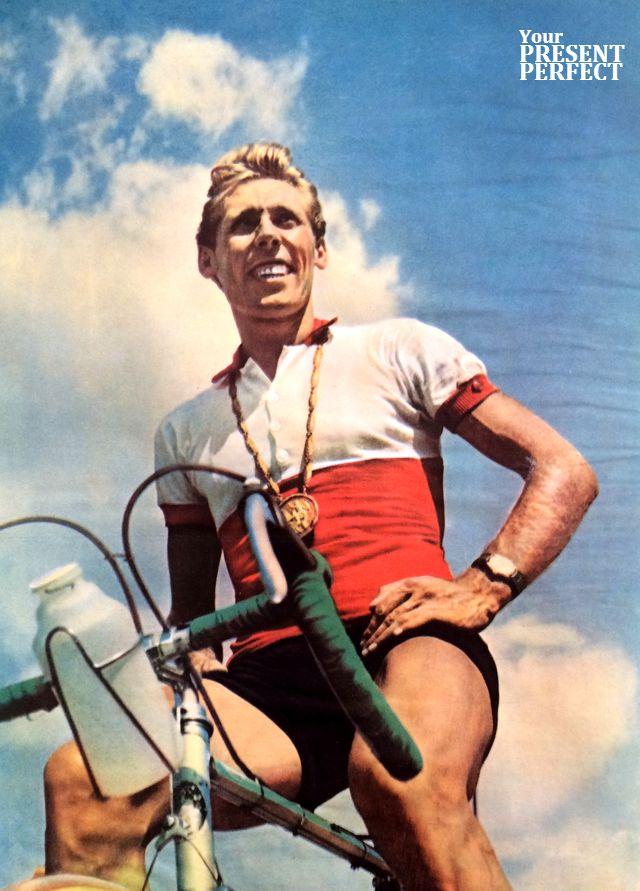Виктор Капитонов, победитель групповой гонки на XVII Олимпийских играх. 1960 год.