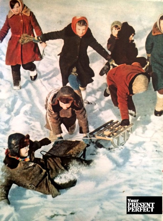 Зимние радости. 1965 год.