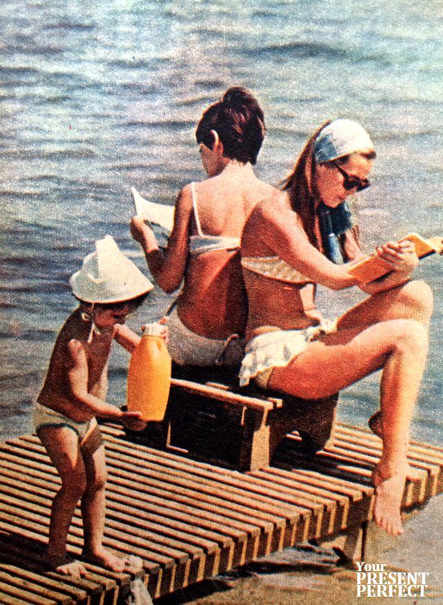 Солнечные ванны. 1969 год.
