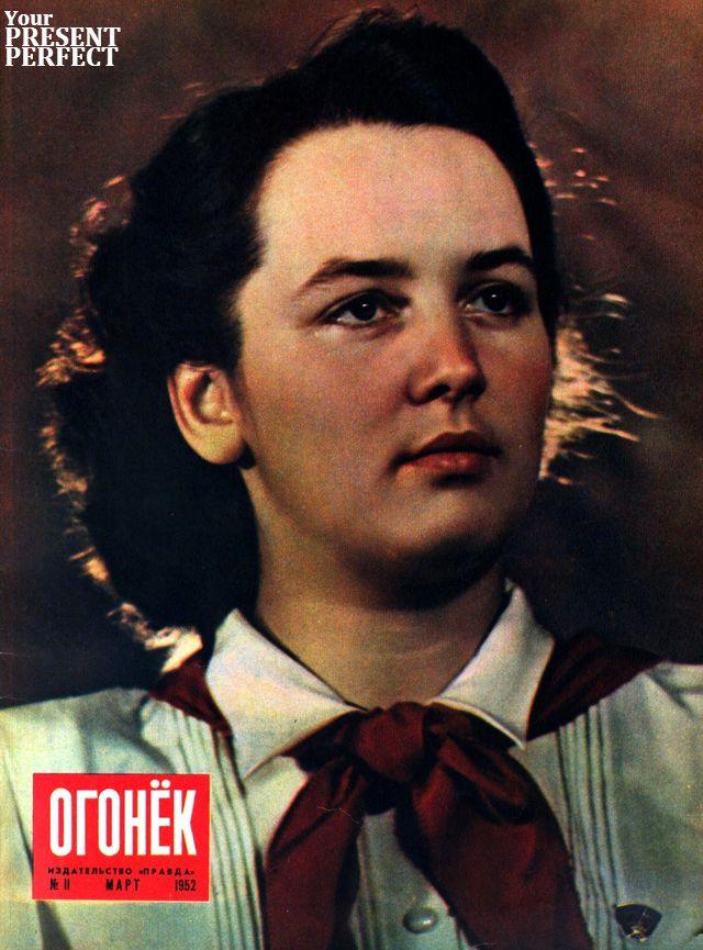 Журнал Огонек №11 март 1952